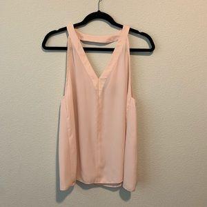 ASOS women Top Blouse size 6 Blush Pink G37